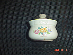 Pfaltzgraff Rosehaven Covered Sugar Bowl
