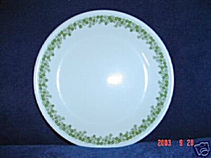 Corelle Spring Blossom Green Lunch Plates