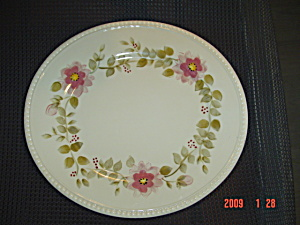Tabletops Gallery Tara Bouquet Dinner Plates - Lot Of 4