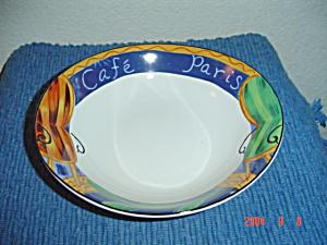 Sango Cafe Paris Soup/Cereal Bowls (Image1)
