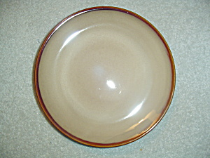Sango Nova Brown Dinner Plates - 11 In.
