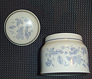 Royal Doulton Shadow Play Covered Sugar Bowl