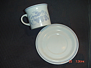 Royal Doulton Shadow Play Cups And Saucers