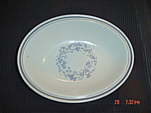 Royal Doulton Shadow Play Oval Serving Bowl