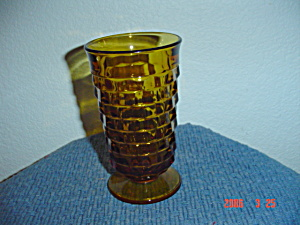 Whitehall Fostoria Indiana Glassamber Ice Tea Glasses