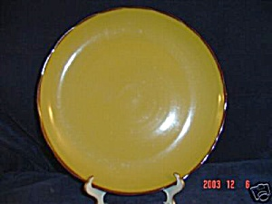 Brand New Sango Quarry Gold Round Platter