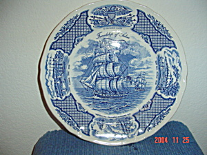 Alfred Meakin Fairwinds Dinner Plates - Blue