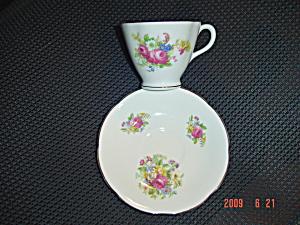 Royal Stuart Floral Cup/Saucer Set 4 (Image1)