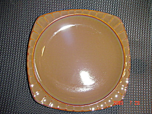 Brand New Sango Society Brown Salad Plates (Image1)