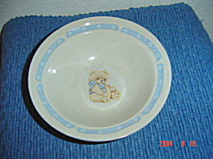 Tienshan Country Bear Soup/cereal Bowls