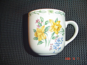 Thomson Floral Garden Mug - Yellow Flowers
