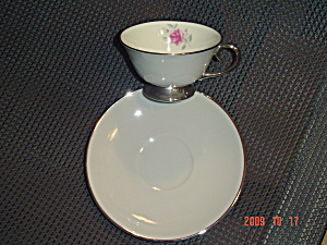 Flintridge Miramar Cup And Saucer - Damaged