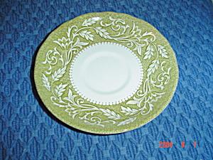 J & G Meakin Renaissance Green Saucers (Image1)