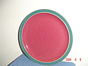 Denby Harlequin Red/Green Dinner Plates (Image1)