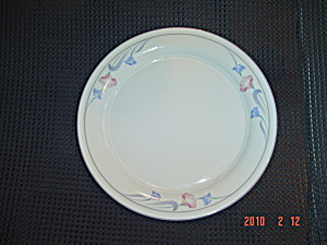 Lenox Glories on Grey Salad Plates (Image1)