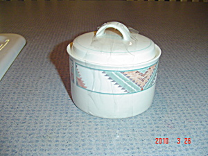 Mikasa Sant Fe Covered Sugar Bowl
