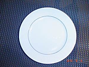 Crown Victoria Lovelace Bread And Butter Plates