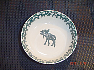Tienshan North Country Moose Soup/cereal Bowl