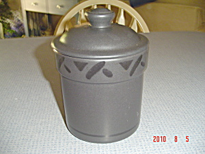 Pfaltzgraff Midnight Sun Small Canister