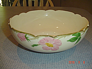 Franciscan Desert Rose Salad Bowl 10.25 In.