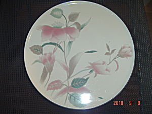 Mikasa Silk Flowers 12 In. Cake Plate