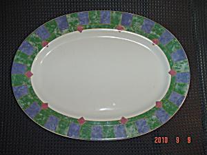 Pfaltzgraff Amalfi Mediterrean Small OVAL Platter (Image1)