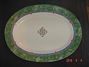 Pfaltzgraff Amalfi Mediterrean OVAL Large Platter (Image1)