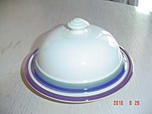 Pfaltzgraff Mountain Shadows Covered Butter Dish