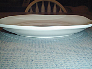 Corning Ware Square White Dinner Plates