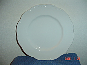 J & G Meakin Colonial Sterling Dinner Plates