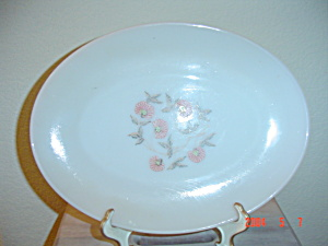 Fire King Fleurette Dinner Plates