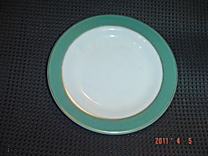 Pyrex Olive Bread And Butter Or Salad Plates