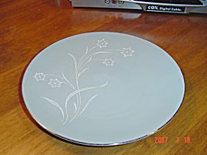 Flintridge Reverie Strata Blue Lunch Plates