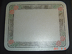 Corelle Roses And Silk Counter Saver