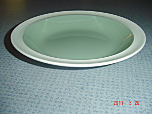 Wedgwood Of Etruria Barlaston Green Soup Bowls
