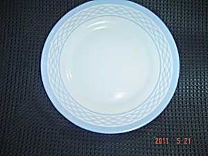 Martha Stewart Everyday Blue Wavy Salad Plates (Image1)
