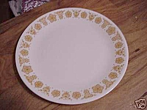Corelle Butterfly Gold Dinner Plates (Image1)