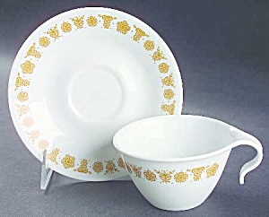 Corelle Butterfly Gold Hook Cups ONLY (Image1)