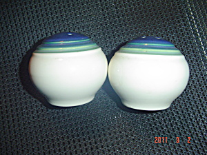 Pfaltzgraff Mountain Shadow Salt And Pepper Shakers
