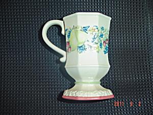 Avon Sweet Country Harvest Pedestal Mugs