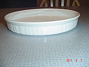 Corning Ware French White Quiche Pan
