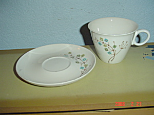 Franciscan It's A Breeze Cups And Saucers
