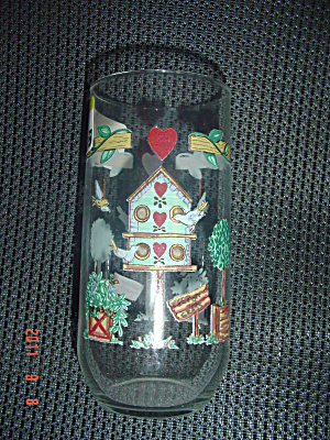 Thomson Pottery Birdhouse Glasses/tumblers