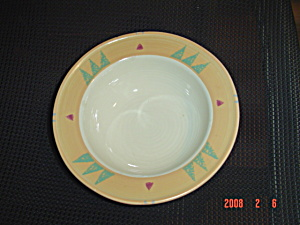 Treasure Craft Taos Rimmed Soup Bowl
