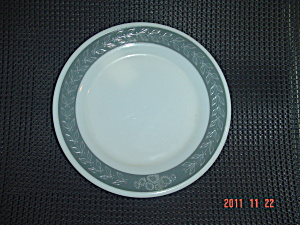 Pyrex Gray Laurel Salad Plates