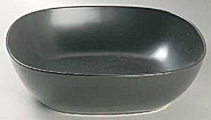 Calvin Klein Khaki Collection Graffiti Charcoal Pasta Or Salad Bowl