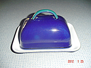 Denby Regatta Covered Butter Dish - Pound Size