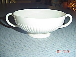 Wedgwood Edme Double Handle Creme Soup Cups/bowls