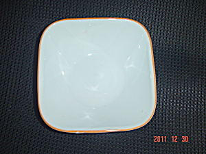 Corelle Square Soup/Cereal Bowl Multi Stripe and Circles (Image1)