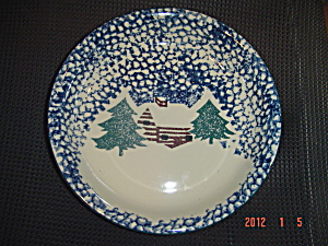 Tienshan Cabin In The Snow Pasta Bowls - New